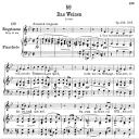 Das Weinen D.926,  Low Voice in B-Flat Major, F. Schubert | eBooks | Sheet Music