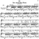 Der zürnender Diana D.707,  Low Voice in E-Flat Major, F. Schubert | eBooks | Sheet Music