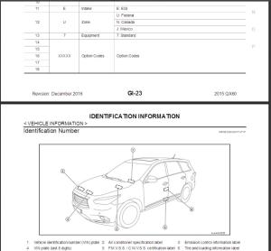 infiniti qx60 l50 2015 service repair manual & wiring diagram