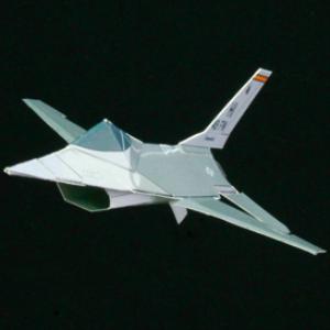 paper f-16 diamondback