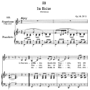 Im Haine D.737,  Low Voice in F Major, F. Schubert | eBooks | Sheet Music