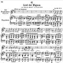 Lied der Mignon D.877-3 ;So lasst mich scheinen,  Low Voice in G Major, F. Schubert | eBooks | Sheet Music