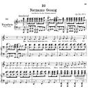 Normanns gesang D.846,  Low Voice in A minor, F. Schubert. | eBooks | Sheet Music