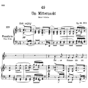 Um Mitternacht D.862,  Low Voice in F Major, F. Schubert | eBooks | Sheet Music