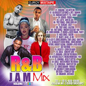 Dj Roy R&B Jam Mix Vol.7 [2017] | Music | R & B