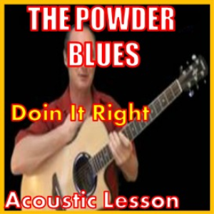 learn to play doin it right by the powder blues band