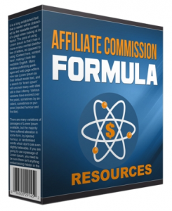 affiliate commission formula 2016
