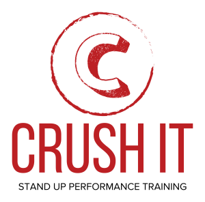 crush it on stage: from fear to fun