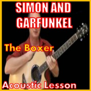 learn to play the boxer 2 by simon and garfunkel