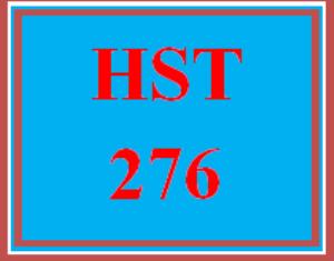 HST 276 Week 1 Week One Worksheet | eBooks | Education