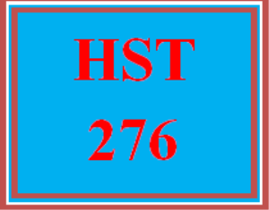 hst 276 week 5 week five knowledge check