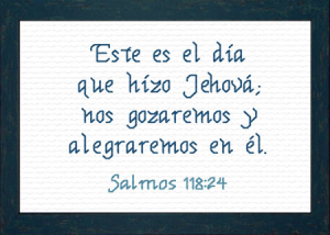 Este es el Dia | Crafting | Cross-Stitch | Religious