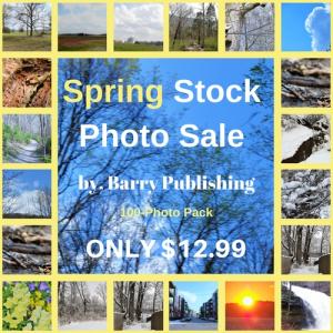 barry publishing spring stock photo sale