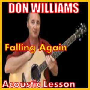 learn to play falling again by don williams