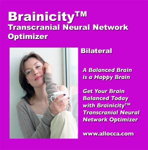 brainicitytm transcutaneous neural network optimizer - bilateral