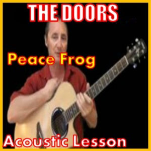 learn to play peace frog by the doors
