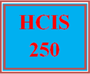 hcis 250 week 2 health information exchange reference manual
