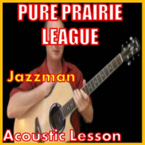 learn to play jazzman by pure prairie league