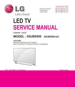 lg 65ub9500 television original service manual + schematics