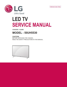 lg 50uh5530 television original service manual + schematics