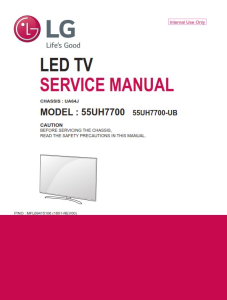 LG 60UH6150 Television Original Service Manual + Schematics   eBooks   Technical
