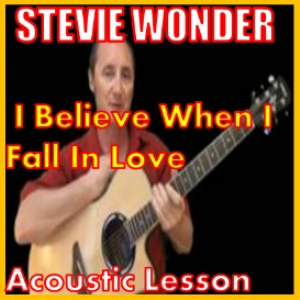 learn to play i believe when i fall in love by stevie wonder