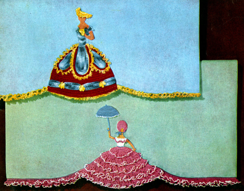 Second Additional product image for - Crinoline Lady in Crochet | Book No. 262 | The Spool Cotton Company DIGITALLY RESTORED PDF