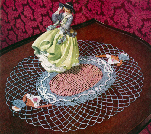 Fourth Additional product image for - Crinoline Lady in Crochet | Book No. 262 | The Spool Cotton Company DIGITALLY RESTORED PDF