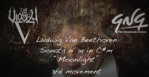 First Additional product image for - Dr.Viossy - Beethoven - Moonlight Sonata for Electric Guitar (3rd movement)