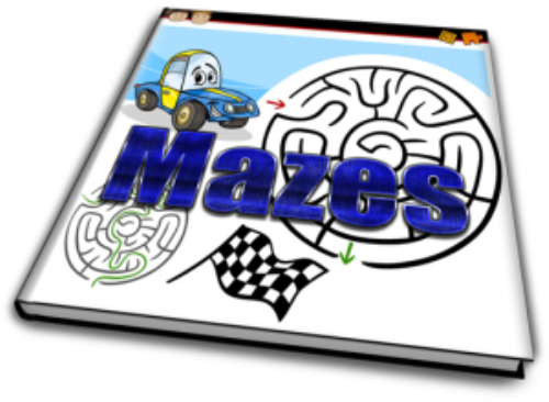 First Additional product image for - Mazes, big bundle of Maze fun for kids