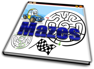 mazes, big bundle of maze fun for kids