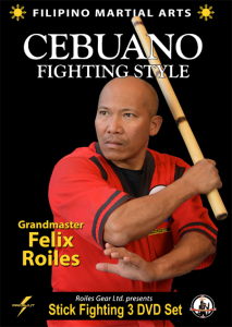 filipino sebuano stick fighting style (3 volume set)