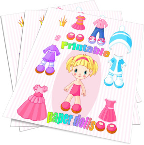 printable paper dolls to how to draw princesses