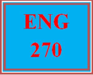 eng 270 week 4 drama analysis paper
