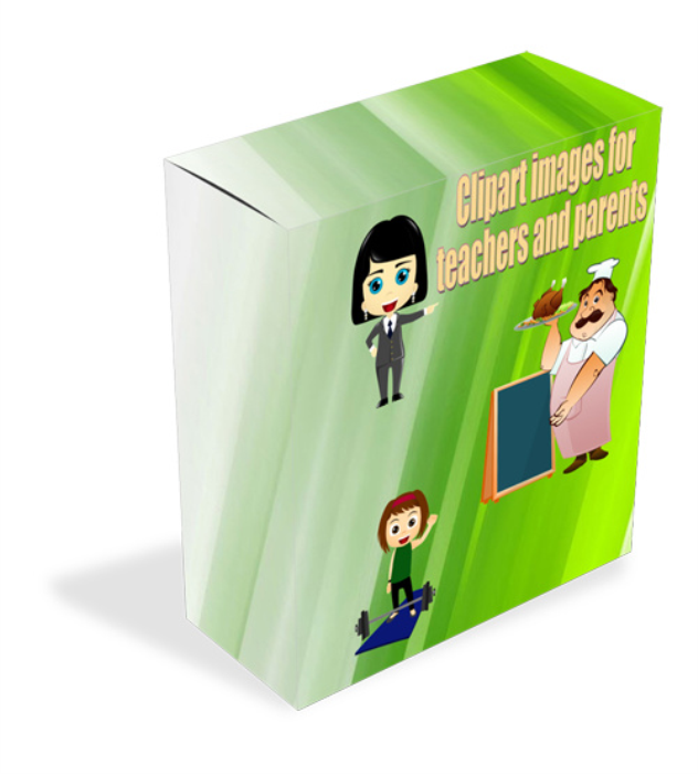 Fourth Additional product image for - HUGE clipart image bundle for kids, parents and teachers