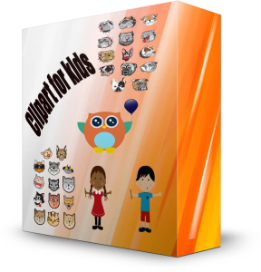 huge clipart image bundle for kids, parents and teachers