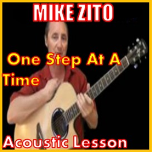 learn to play one step at a time by mike zito