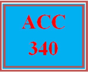 ACC 340 Week 1 Textbook Assignment   eBooks   Education