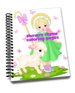Big bundle of coloring activity pages for girls | eBooks | Children's eBooks