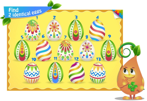 Second Additional product image for - Easter coloring pages and clipart for kids