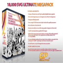18,000 SVG doodle illustrations for graphic designers and animators   Photos and Images   Clip Art