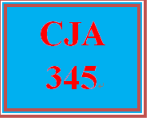 CJA 345 Week 4 Research Proposal, Part II | eBooks | Education