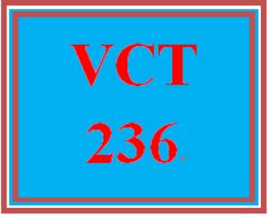 VCT 236 Entire Course | eBooks | Education
