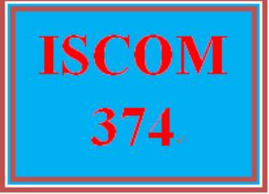 ISCOM 374 Week 5 Transportation | eBooks | Education