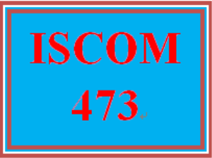 ISCOM 473 Week 1 Article Analysis | eBooks | Education