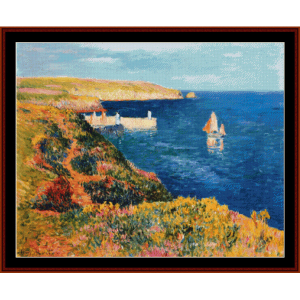 Port Eudy, Ile de Groix - Moret cross stitch pattern by Cross Stitch Collectibles | Crafting | Cross-Stitch | Other