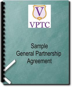 sample  general partnership agreement
