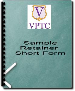 sample retainer agreement