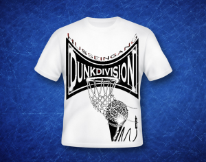 hussein gang - dunk division t shirt