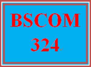 BSCOM 324 Week 2 Survey Development | eBooks | Education